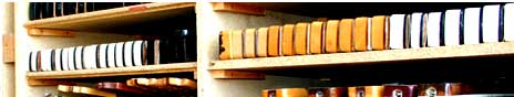 huge selection of vintage guitars necks