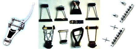 instrument bridges and tailpieces