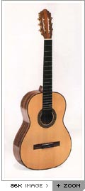 Clarissa nylon string guitar