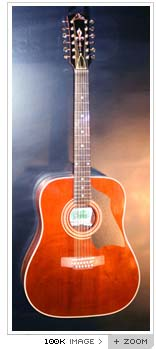 eko eldorado 12 string acoustic 