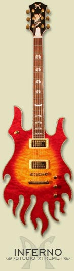 minarik inferno guitar - click for large image