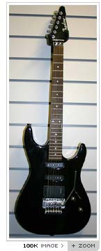shadow superstrat guitar